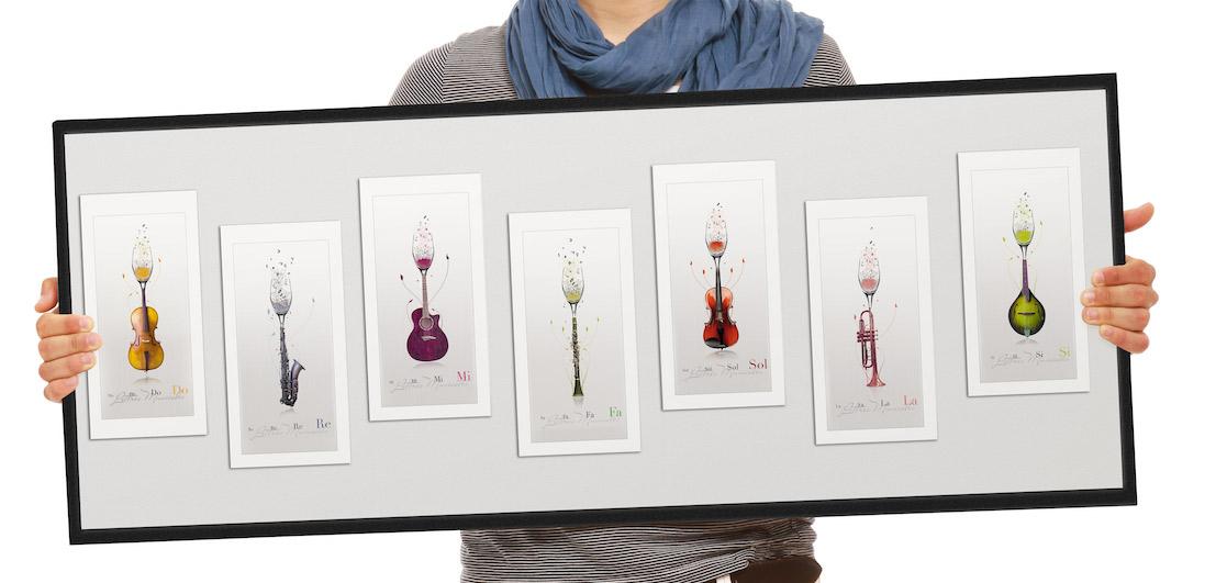 cartes postales musicales et ou tableau cadeau original st phane ruel graphiste. Black Bedroom Furniture Sets. Home Design Ideas