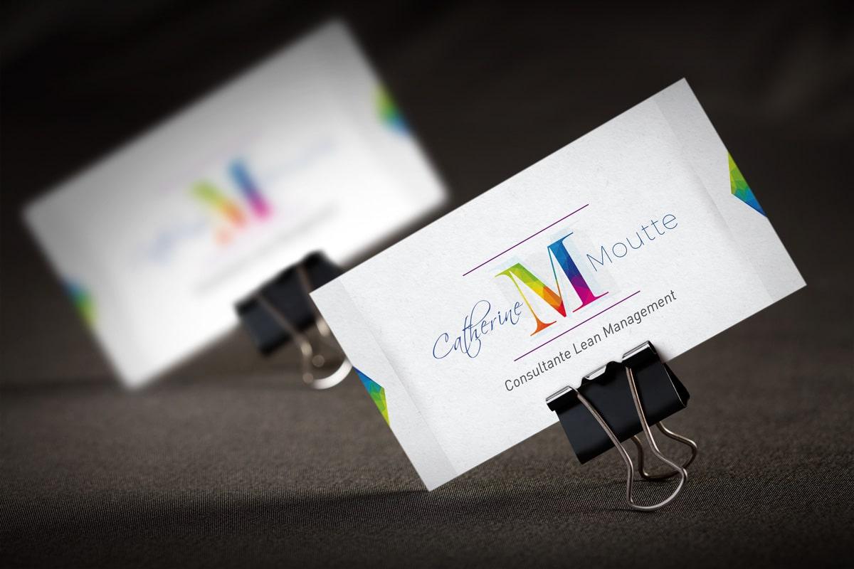 Réalisation graphique logo - identité visuelle Carpentras - Catherine Moutte - Lean Management
