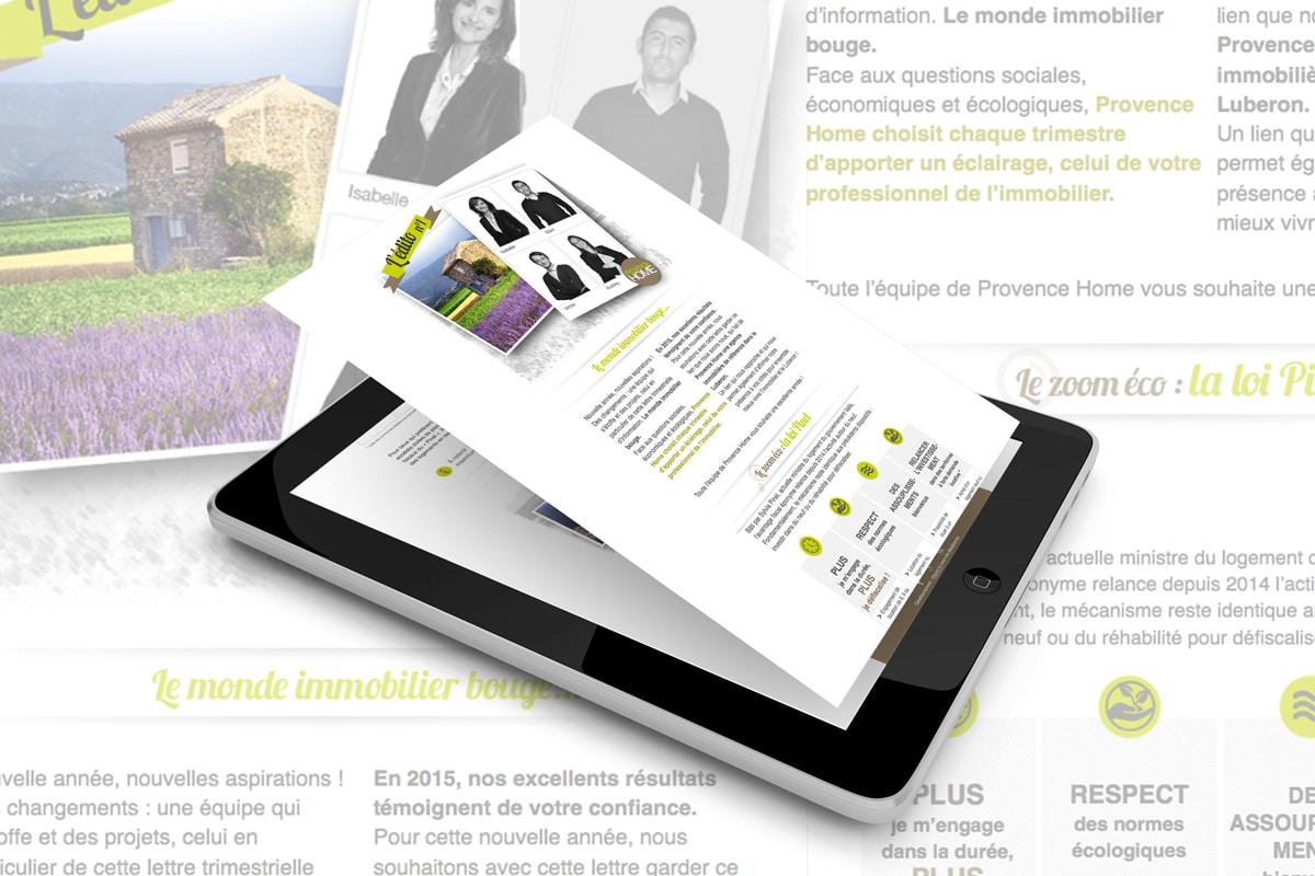 Creation-newsletter-avignon-Provence-Home