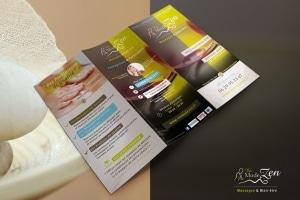 Identité visuelle salon de massage à Avignon et à Marseille