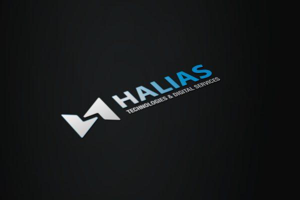 Création Graphique d'un logo à Grenoble en Isere 38000 pour la société Halias
