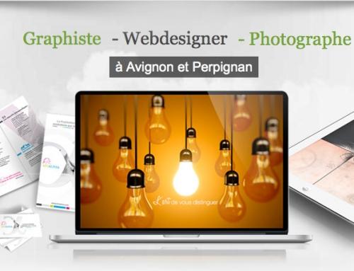 Graphiste photographe Webdesigner a avignon