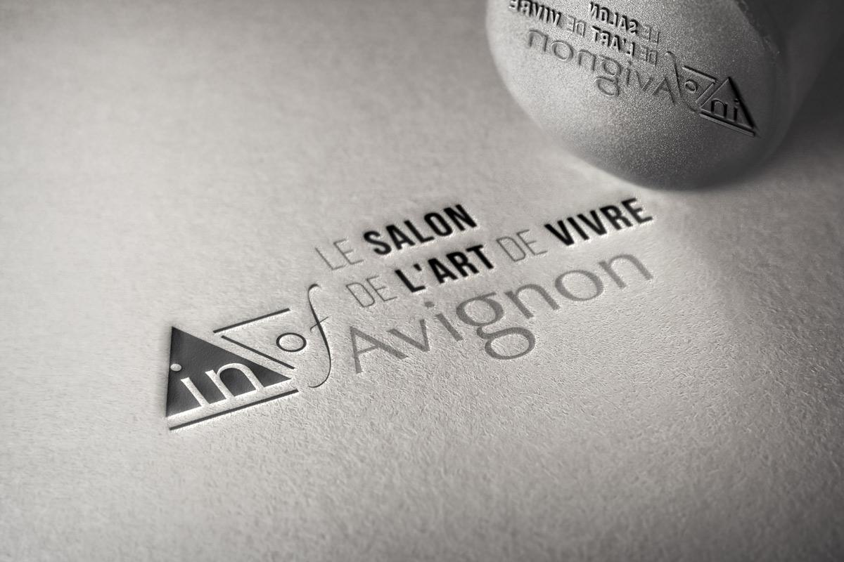 Logo pour le salon de l'Art de Vivre à Avignon