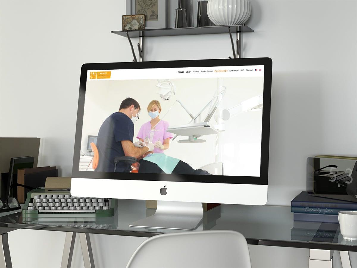 Docteur richard Garrel chirurgien dentiste à Avignon logo conception graphique site internet et référencement naturel à Avignon 84000 dans le Vaucluse