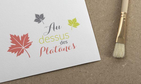 conception graphique d un Logo carpentras - Avignon Vaucluse - 84000 - au dessus des platanes
